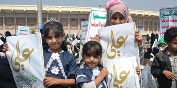 تصاویر | جشن باشکوه عید ولایت در استانهای مختلف یمن