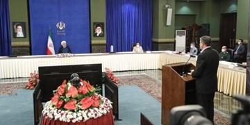 افتتاح 106 کیلومتر از پروژه 2 خطه کردن راهآهن  زنجان-قزوین