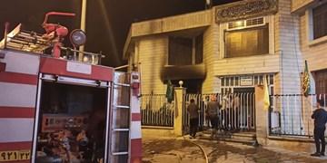 اتصال در سیم کشی برق علت حریق اداره اوقاف کاشمر اعلام شد