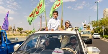 کاروان مردمی شادی غدیر ||| زنجان