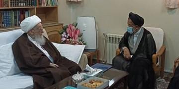 وزیر اطلاعات با تعدادی از مراجع عظام تقلید دیدار کرد