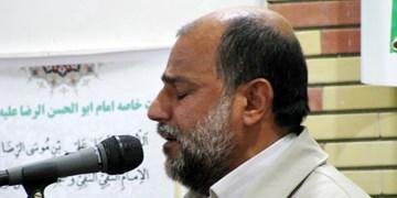 درگذشت یکی از ذاکران حرم امام رضا بر اثر سکته مغزی +فیلم