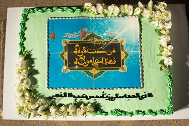 کیک سالروز تاسیس تیپ 18 الغدیر یزد