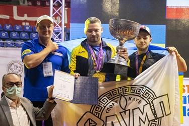 کسب مقام دوم تیمی مسابقات پاورلیفتینگ جام باشگاه های جهان توسط تیم الیمپ اوکراین