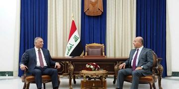 تأکید رئیسجمهور و نخستوزیر عراق بر برگزاری انتخابات در موعد مقرر