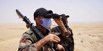 عملیات الحشد الشعبی علیه مخفیگاههای داعش در مناطق همجوار با ایران
