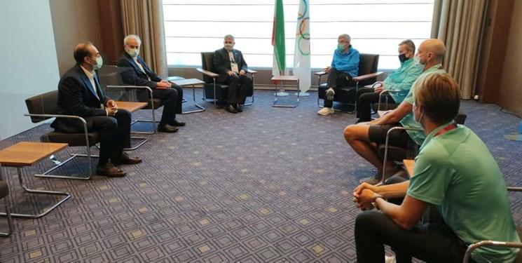 المپیک توکیو  قول توماس باخ برای سفر به ایران