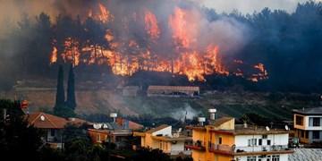 یک گروه وابسته به «پکک» مسئولیت آتش سوزی ترکیه را برعهده گرفت