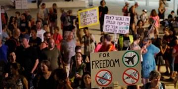 تظاهرات در فلسطین اشغالی، همزمان با اوج گرفتن شیوع کرونا