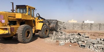 تخریب ۲۵۶ مورد ساخت و ساز غیرمجاز اراضی کشاورزی در رباط کریم