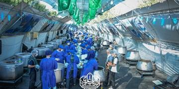هیأتیها در غدیر امسال ۵۵۰ هزار پرس غذا برای نیازمندان آماده کردند