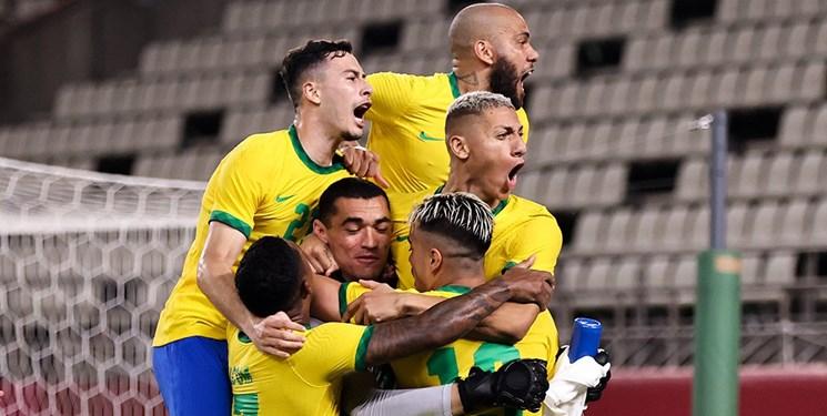 المپیک توکیو| برزیل در ضربات پنالتی فینالیست شد؛ اسپانیا با گلزنی ستاره رئال