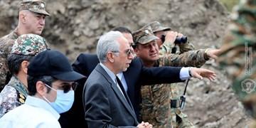 بازدید سفیر ایران از مناطق مرزی ارمنستان در استان گغارکونیک