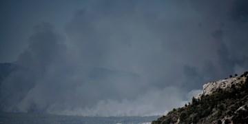 دستور تخلیه منازل شمال آتن به دنبال گسترش آتش سوزی