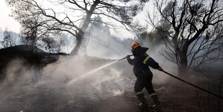پیشروی آتش در یونان؛ هشدار مقامات «آتن» درباره خروج از منزل+تصاویر