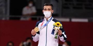 المپیک توکیو  درخشش طلا بر سینه گرایی/ دومین مدال طلا برای کاروان ایران