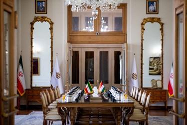 دیدار وزیر امور خارجه ایران و کویت