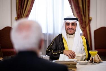 شیخ احمد ناصر المحمد الصباح وزیر امور خارجه کویت