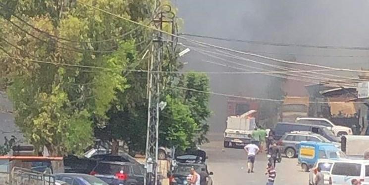 وقوع آتشسوزی مهیب در جنوب لبنان + فیلم