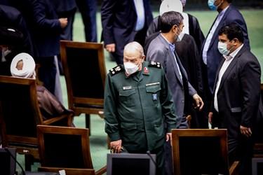 سرلشکر سید یحیی رحیمصفوی دستیار و مشاور عالی فرمانده معظم کل قوا در مراسم تحلیف رئیسجمهور