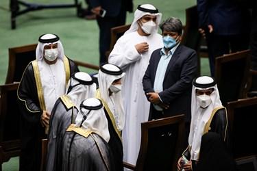 میهمانان کشور های خارجی در مراسم تحلیف رئیسجمهور