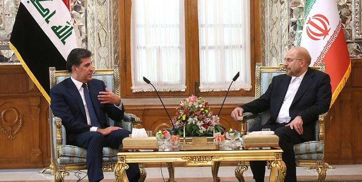 تأکید بر ساماندهی مبادلات مرزی و توسعه روابط با اقلیم کردستان