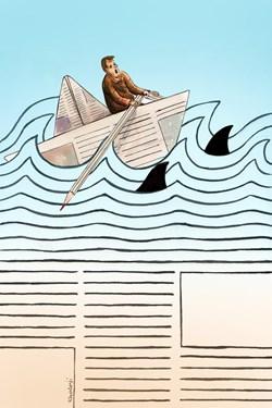 کاریکاتور| 17 مرداد، روز خبرنگار