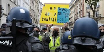 هزاران معترض ضد دولت فرانسه به خیابانها آمدند