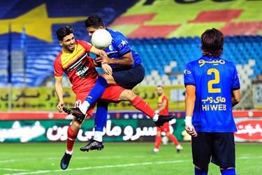 دیدار تیمهای فولاد و استقلال در فینال جام حذفی فوتبال ایران در ورزشگاه نقش جهان اصفهان