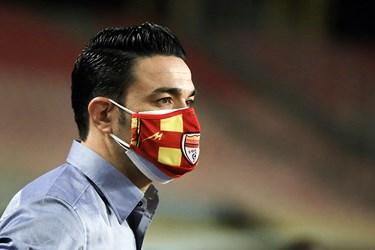 جواد نکونام سرمربی تیم فولاد خوزستان در دیدار جام حذفی