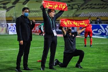 قهرمانی تیم فولاد خوزستان در فینال جام حذفی فوتبال ایران در ورزشگاه نقش جهان اصفهان