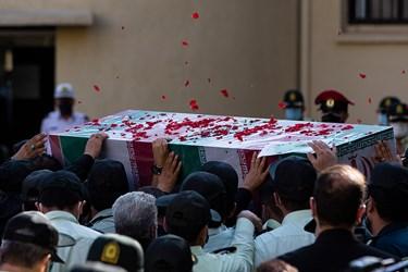 تشییع پیکر شهید ستوان سوم « یاسر طاهری»