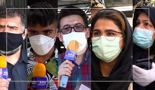بیمار کرونایی در صف دارو! / گلایههای مردم از مسئولین در صفهای طولانی داروخانه