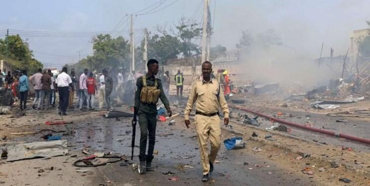 ۲ انفجار تروریستی در سومالی با دستکم ۱۵ کشته و شماری زخمی