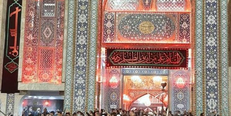 عزاداری ایرانیان در جوار حرم نورانی امام حسین(ع)