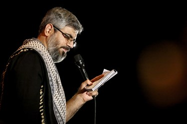مرثیه سرایی محمد شعبانپور در هیئت لواءحیدر کرار در دانشگاه آزاد کرج