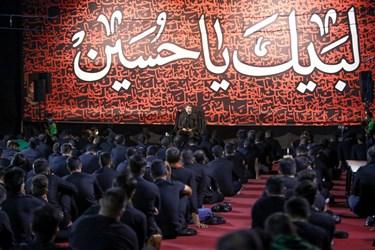 سخنرانی حاج فرید نجف نیا در مراسم شب سوم محرم - هیئت لواءحیدرکرار (دانشگاه آزاد کرج)