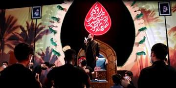 فیلم عزاداری حسینی با رعایت کامل دستورالعملهای بهداشتی در یزد