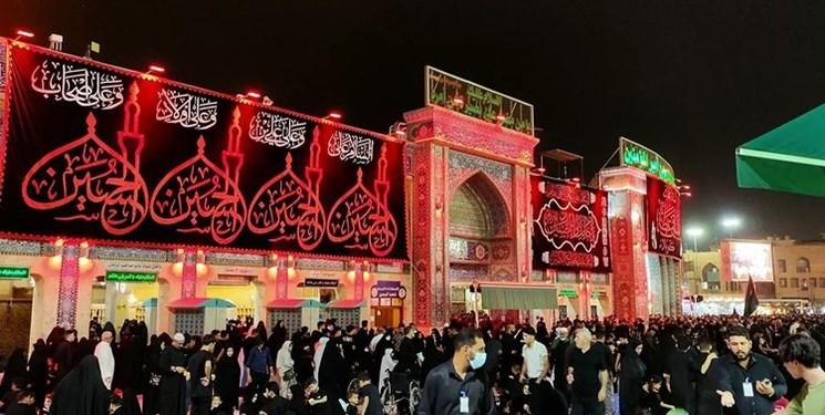 اولین شب جمعه محرم در حرم امام حسین (ع)+عکس و فیلم
