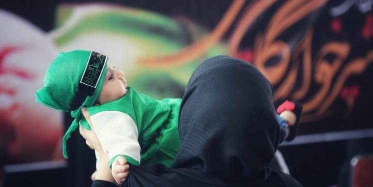 همایش شیرخوارگان حسینی در دلفان+ تصاویر