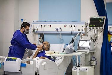وضعیت بیمارستانهای اراک||| در موج پنجم کرونا