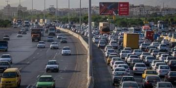 ترافیک سنگین در هراز و کندوان/ ثبت بیشترین تردد جادهای بین ساعات 19 تا 20