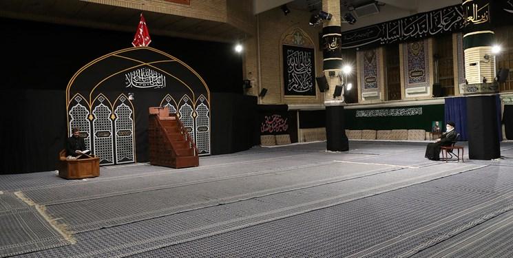 برگزاری اولین شب مراسم عزاداری در حسینیه امام خمینی(ره) با حضور رهبر معظم انقلاب