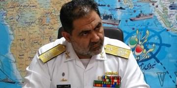 دریادار ایرانی: نیروی دریایی برای برقرای امنیت ۲۴ ساعته در دریا حضور دارد