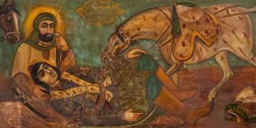 «عاشورا» در نقاشیهای قهوهخانهای + تصاویر