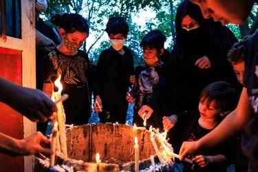 آئین «شمع گردانی» در تبریز
