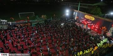 فیلم  خدمت رسانی پلیس به عزاداران حسینی در شب تاسوعا