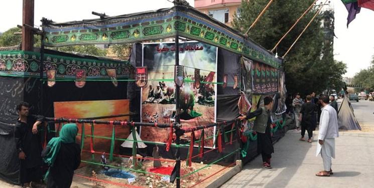 برگزاری مراسم روز عاشورای حسینی (ع) با حضور طالبان در کابل + فیلم