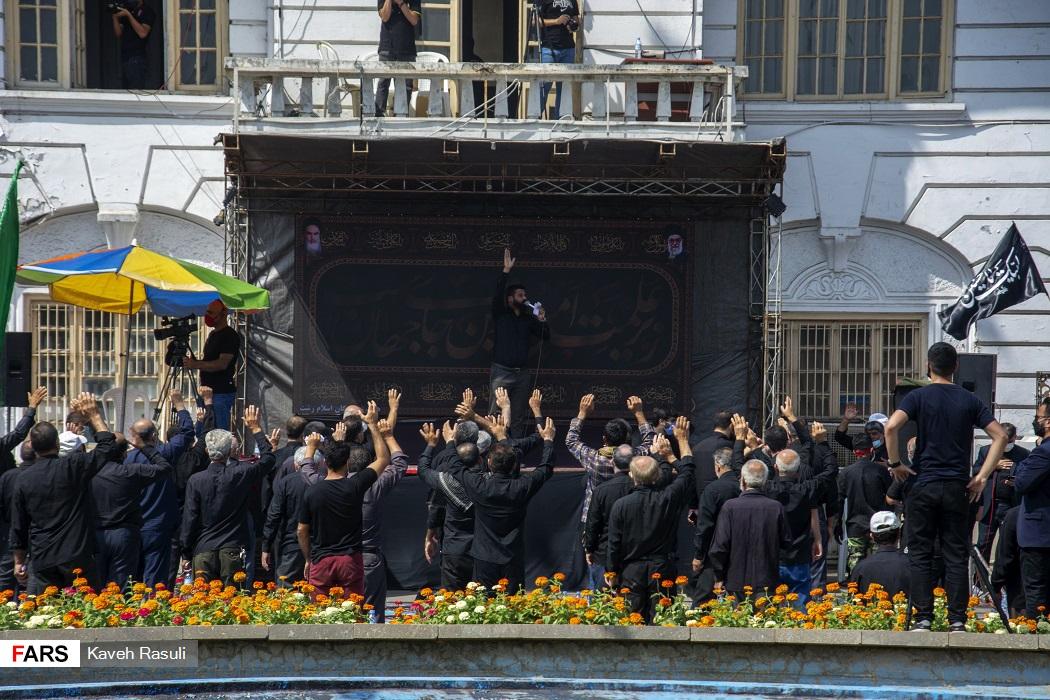 عکس  اجتماع بزرگ عاشورائیان در رشت