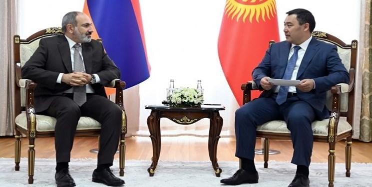 رئیس جمهور قرقیزستان با نخست وزیر ارمنستان دیدار کرد